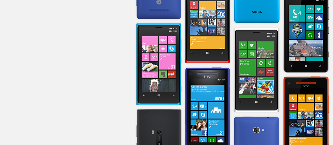 Windows Phone s'ha dissenyat per a tu