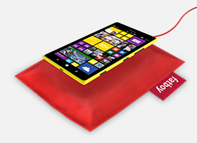 Nokia Wireless Charging Pillow by Fatboy