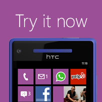 Try Windows Phone today!