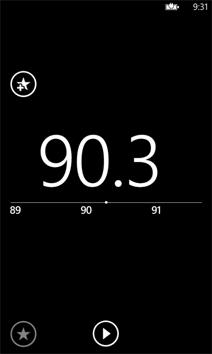 Radio tuner on Windows Phone