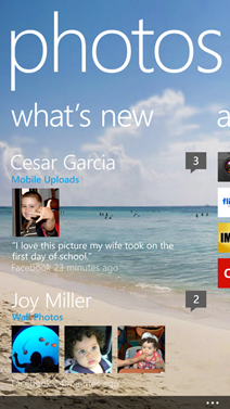 See your friends' photos with your Windows Phone 8