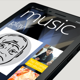 Nokia Lumia 810 music