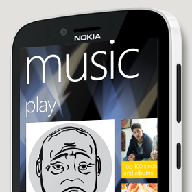 Nokia Lumia 822 Nokia Music
