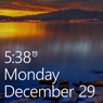 Windows Phone 7,8 lock screen