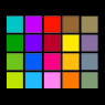 Windows Phone 7.8 theme colors