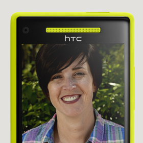 Windows Phone 8X by HTC front-facing camera