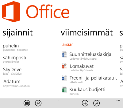 Office-toiminto
