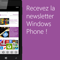 Newsletter Windows Phone