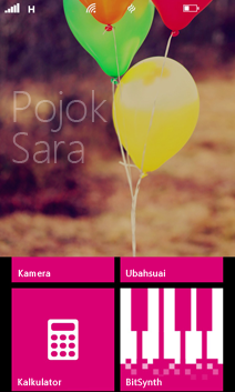 Pojok Anak di Windows Phone 8