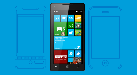Bytte til Windows Phone