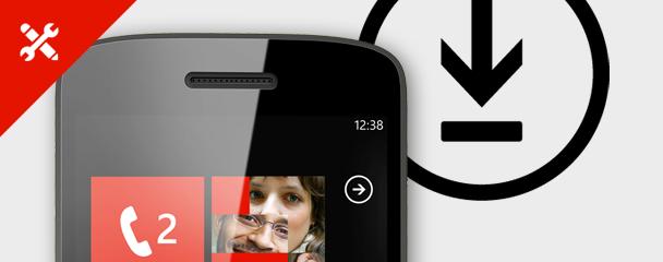 Veiviser for oppdatering av mobilen