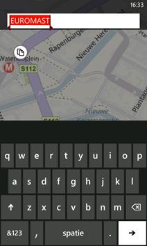 Een herkenningspunt vinden in de app Kaarten