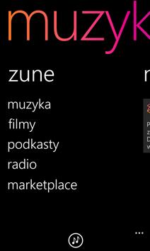 Ekran Zune