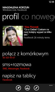 Profil kontaktu