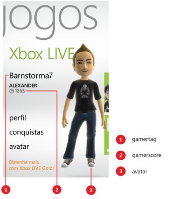 Foto do perfil do jogador no Hub Jogos