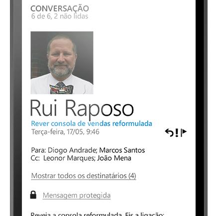 E-mail + Mensagens