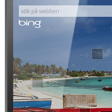 Bing Search + Närområde